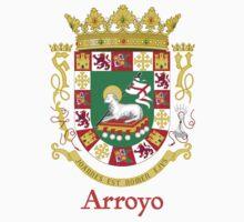 Arroyo Shield of Puerto Rico One Piece - Short Sleeve
