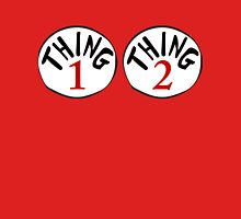 Thing 1 & Thing 2 Womens Fitted T-Shirt
