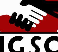 1984 Ingsoc Logo Sticker