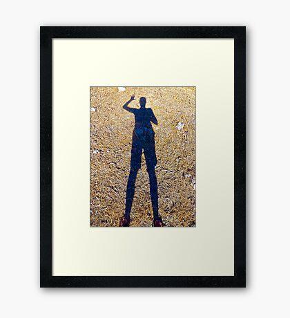 Hello.... Framed Print