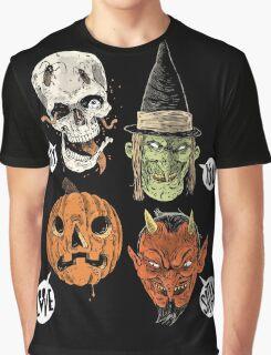 Say You Love Satan 80s Horror Podcast Logo 2 Graphic T-Shirt