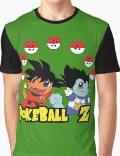 Poke Ball Z Graphic T-Shirt