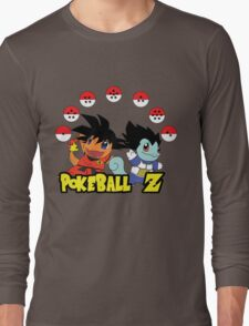 Poke Ball Z Long Sleeve T-Shirt