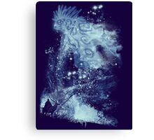 forest spirit rising Canvas Print