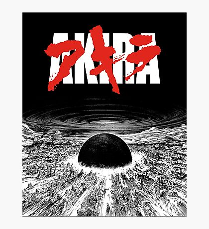 AKIRA - Neo Tokyo Is About To Explode Photographic Print