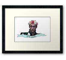 Loki & His Sass Framed Print