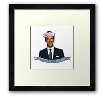 Benny! Framed Print