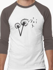 Dandylion Flight Men's Baseball ¾ T-Shirt