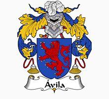 Avila Coat of Arms/Family Crest Unisex T-Shirt
