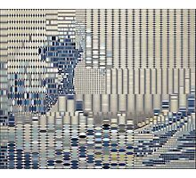 Data Tidal Wave Generative Algorithmic Art Photographic Print