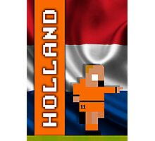 World Cup 2014: Holland Photographic Print