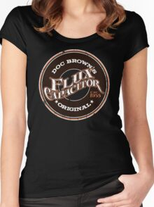 Doc Brown's Flux Capacitor Women's Fitted Scoop T-Shirt