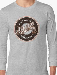 Doc Brown's Flux Capacitor Long Sleeve T-Shirt