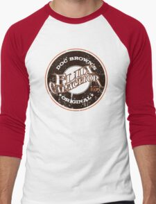 Doc Brown's Flux Capacitor Men's Baseball ¾ T-Shirt