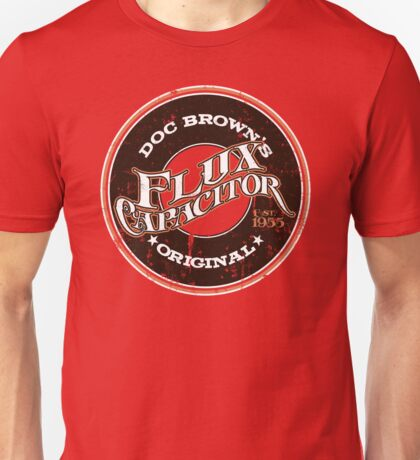 Doc Brown's Flux Capacitor Unisex T-Shirt