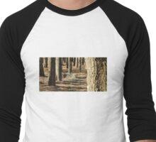 Urban Wood Men's Baseball ¾ T-Shirt