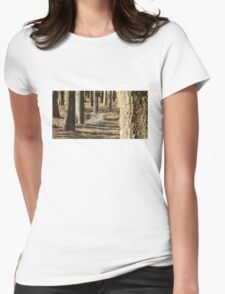Urban Wood Womens Fitted T-Shirt
