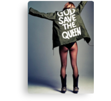 Kate Moss Canvas Print