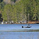 Fishing Lake Fairlee V by Caleb Ward