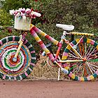The Knitted Bike by Elaine Teague