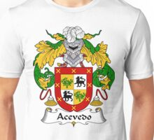 Acevedo Coat of Arms/Family Crest:  Unisex T-Shirt