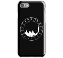 Ancient Forest Runes iPhone Case/Skin