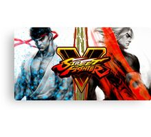 ryu ken street fighter v Canvas Print