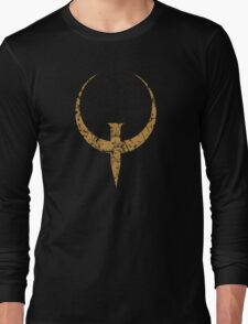 Quake - Bronze Long Sleeve T-Shirt