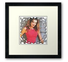 Buffy Glory Framed Print