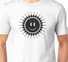 Black guitars sun Unisex T-Shirt