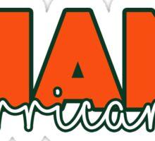 Miami Hurricanes  Sticker