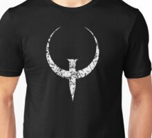 Quake - White Unisex T-Shirt