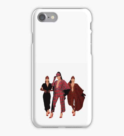 2 looks in one - its a talent iPhone Case/Skin
