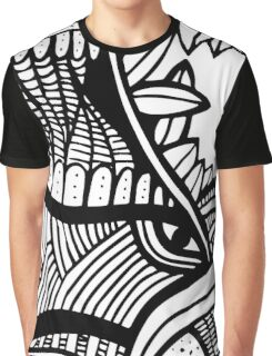 abstract ink design Graphic T-Shirt