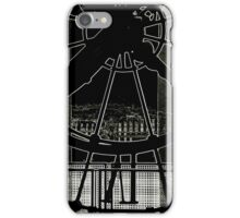 View from the Clock face iPhone Case/Skin