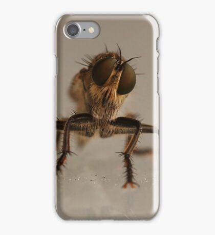 the fly, insect macro iPhone Case/Skin