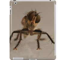 the fly, insect macro iPad Case/Skin