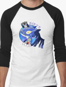 Primal Kyogre Men's Baseball ¾ T-Shirt