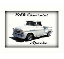 1958 Chevrolet Apache Art Print
