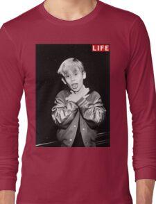 Macaulay Culkin Life Tshirt Long Sleeve T-Shirt