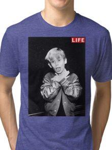 Macaulay Culkin Life Tshirt Tri-blend T-Shirt