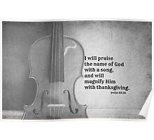 Psalm 69 Praise  Poster