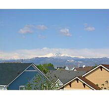 Rooftop view in Loveland Photographic Print
