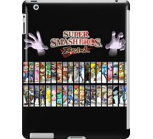 Super Smash Bros Brawl all characters iPad Case/Skin