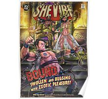 SheVibe Presents Bound a Tantus & Vibeology Collaboration Poster