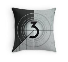 Countdown Throw Pillow