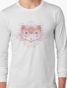 Cat flower Long Sleeve T-Shirt