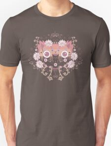 Cat flower Unisex T-Shirt