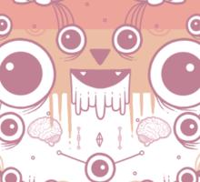 Cat flower Sticker