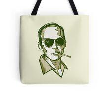 Hunter S. Thompson green pillow Tote Bag